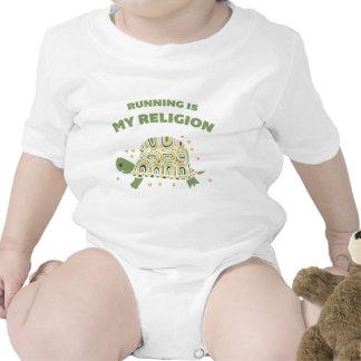 Tortuga corriente traje de bebé