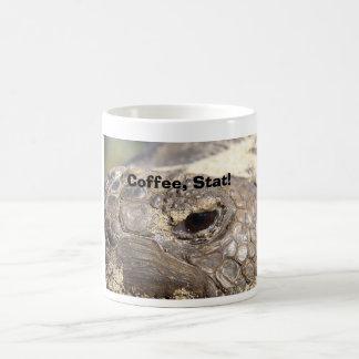 ¡Tortuga de Gopher, café, Stat! Taza Clásica