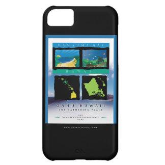 Tortuga de Hawaii de la bahía de Hanauma Carcasa iPhone 5C