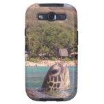 Tortuga de Hawaii de la bahía de Hanauma Samsung Galaxy S3 Cárcasa