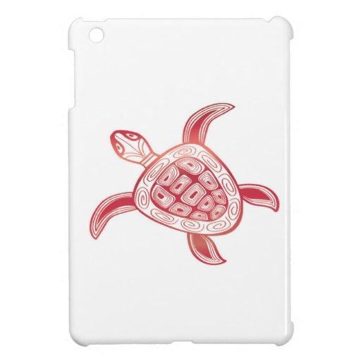 Tortuga de Hawaii de la bahía de Hanauma iPad Mini Coberturas