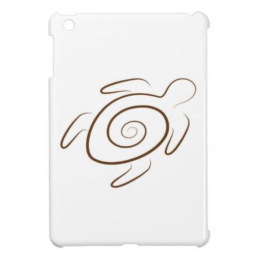 Tortuga de Hawaii de la bahía de Hanauma iPad Mini Cárcasas