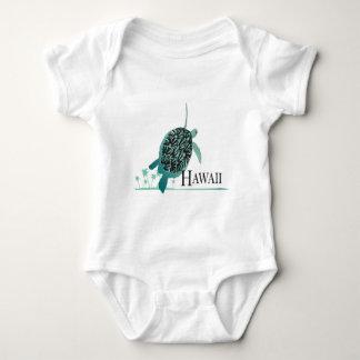 Tortuga de Hawaii de la bahía de Hanauma T-shirts