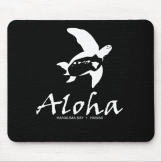 Tortuga de Hawaii de la hawaiana Alfombrillas De Raton