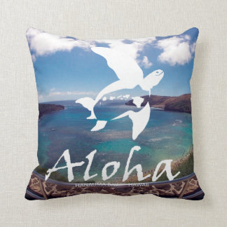 Tortuga de Hawaii Honu de la hawaiana Cojín