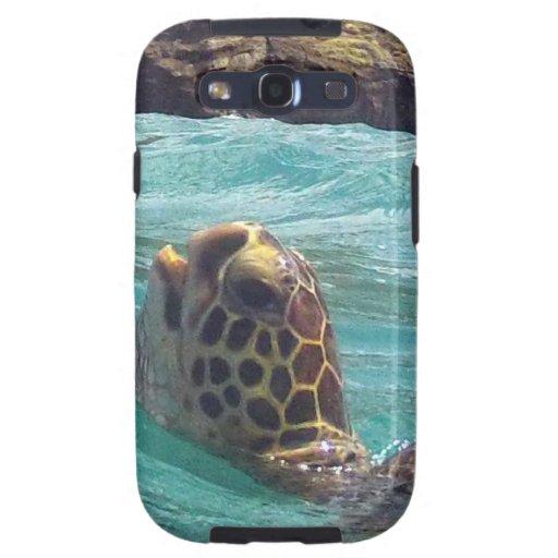 Tortuga de Hawaii Honu Galaxy SIII Protector