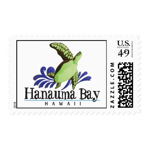 Tortuga de Hawaii Sello