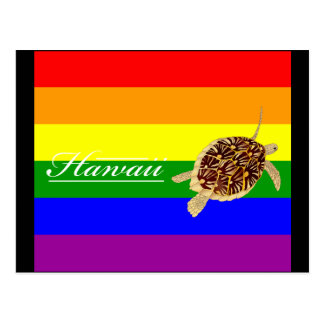 Tortuga de Hawaii Tarjeta Postal