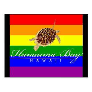 Tortuga de Hawaii Tarjetas Postales
