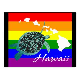 Tortuga de Hawaii Postales