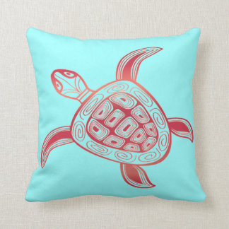 Tortuga de la hawaiana de Hawaii Cojín