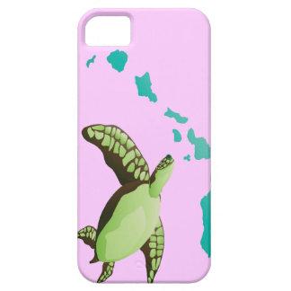 Tortuga de la isla y de Hawaii de Oahu Funda Para iPhone SE/5/5s