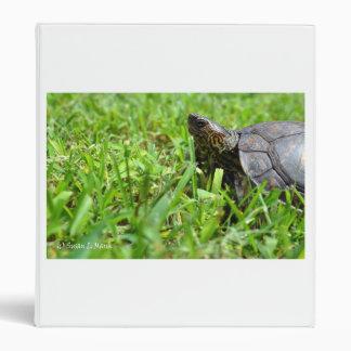 tortuga de madera adornada que mira a la izquierda