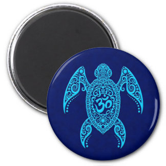 Tortuga de mar azul de OM Iman De Nevera