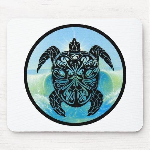 Tortuga de mar céltico tapete de ratones