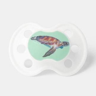 Tortuga de mar chupetes para bebés