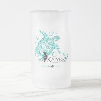 Tortuga de mar de Kalypso Taza Cristal Mate