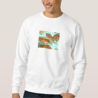 Tortuga de mar de la tortuga jersey
