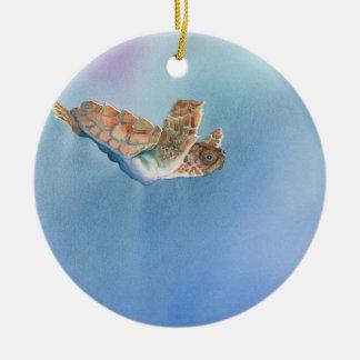 tortuga de mar ornaments para arbol de navidad