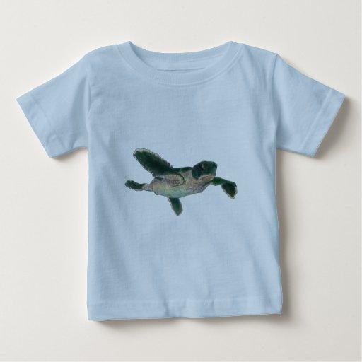 Tortuga de mar del bebé camiseta