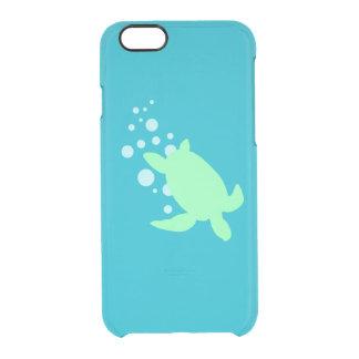 Tortuga de mar funda clearly™ deflector para iPhone 6 de uncommon