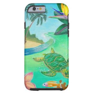 Tortuga de mar funda resistente iPhone 6