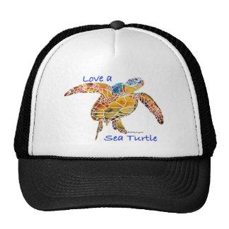 Tortuga de mar gorra
