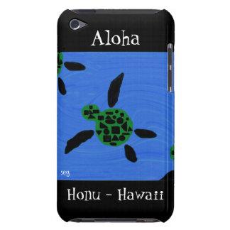 Tortuga de mar hawaiana de Honu de la hawaiana Bar Barely There iPod Coberturas
