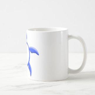 TORTUGA DE MAR HAWAIANA TAZA DE CAFÉ