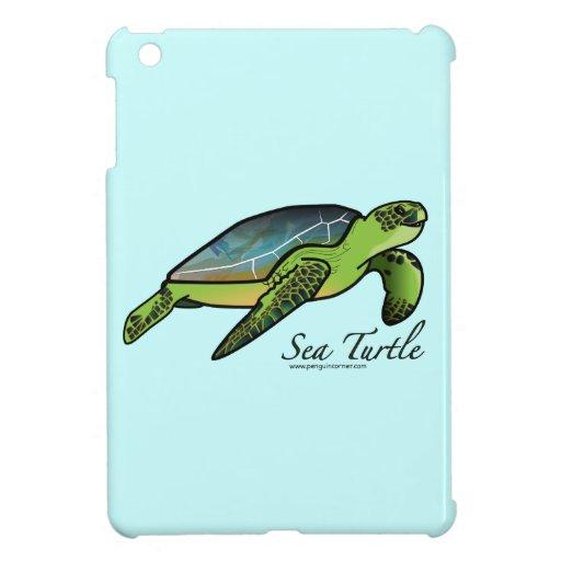 Tortuga de mar iPad mini cobertura