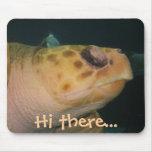 Tortuga de mar Mousepad Alfombrilla De Ratón