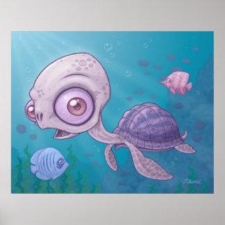 Tortuga de mar impresiones
