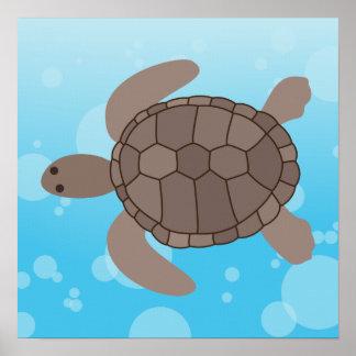 Tortuga de mar posters