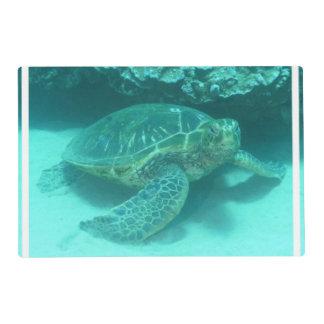 Tortuga de mar salvamanteles