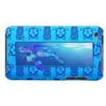 Tortuga de mar subacuática iPod touch Case-Mate funda