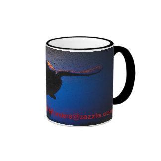 Tortuga de mar taza de café