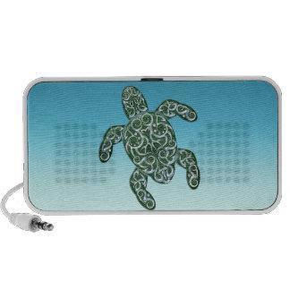 Tortuga de mar tribal 3D PC Altavoces