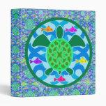 """Tortuga de mar verde 1"""" carpeta del arte"""