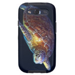 Tortuga de mar verde - caja de la galaxia S3 de Galaxy SIII Fundas