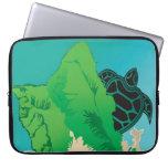 Tortuga de mar verde de Hawaii de la bahía de Hana Funda Computadora