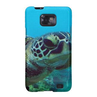 Tortuga de mar verde de Hawaii Samsung Galaxy SII Carcasa
