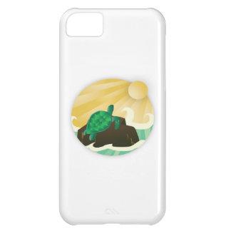 Tortuga de mar verde de Hawaii Funda Para iPhone 5C