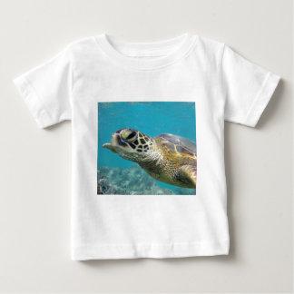 Tortuga de mar verde de Hawaii Playera De Bebé