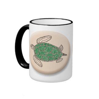 Tortuga de mar verde de Hawaii Taza De Café