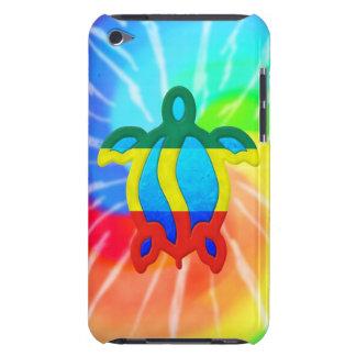 Tortuga de Rasta Honu del teñido anudado iPod Touch Case-Mate Funda