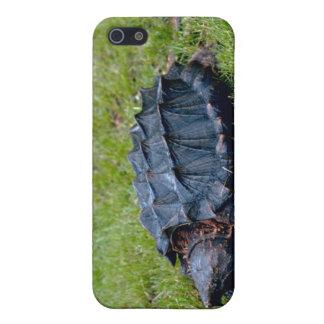 Tortuga de rotura de cocodrilo iPhone 5 fundas