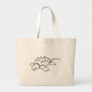 Tortuga de rotura enojada de cocodrilo bolsas