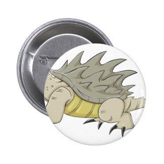 Tortuga de rotura feliz de cocodrilo pin