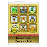 Tortuga de Tommy: ¡El ejercicio es diversión!  Con Felicitaciones