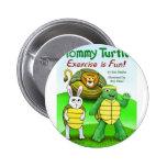 Tortuga de Tommy: ¡El ejercicio es diversión! Pins